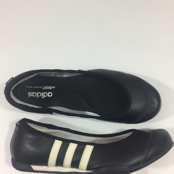 Adidas 3 stripe ballet flats